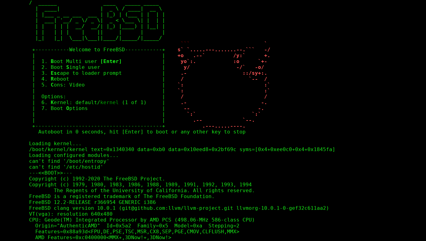 FreeBSD on alix